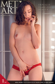 MetArtX - Adel Morel - Lady In Red 1 by Alex Lynn
